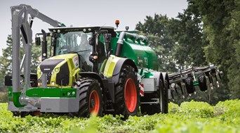 Preview launch of a brand new front fill system at Agritechnica