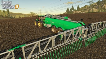 SAMSON machines are for the first time officially included in Farming Simulator
